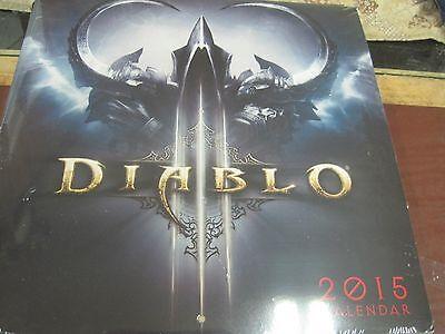 Diablo Wall Calendar 2015