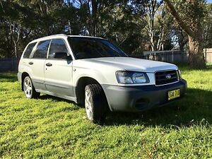 2004 Subaru Forester Wagon Manual Appin Wollondilly Area Preview