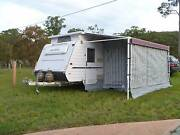 18ft 2007 Windsor Caravan with Bunk Beds Clarence Town Dungog Area Preview