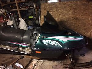 1996 Arctic Cat Panther 440 fan trade for something of Interest