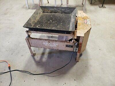 Vl Rampe - U.s. Filter - Vibrating Trommel Material Shaker Vibrating Shaker Ss-1