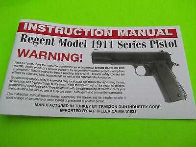 manuals pistol instruction manual