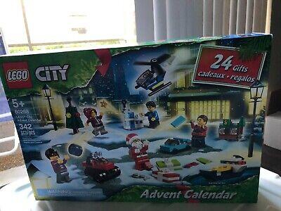 Lego Advent Calendar 24 LEGO Christmas City Gift Set 342 Pc Ships Quick