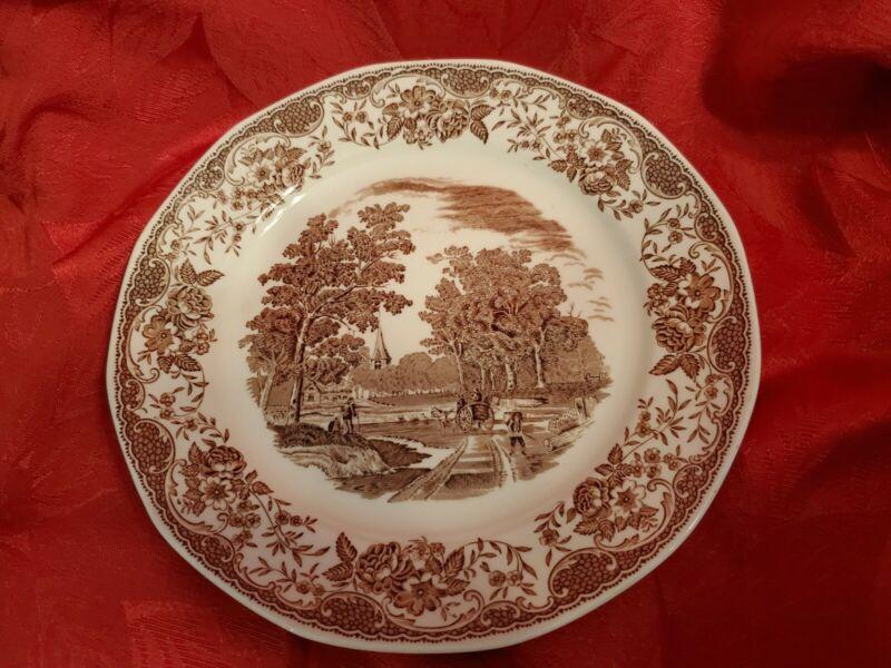 Royal Tudor Ware. Olde England Barker Brothers Dinner Plate.