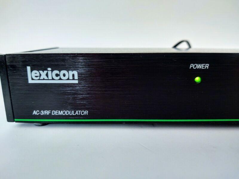 AC Adapter For LEXICON LDD-1 AC-3/RF DEMODULATOR