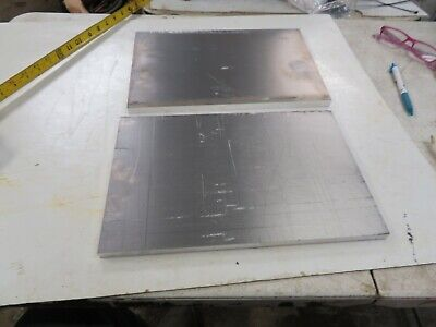 2 Aluminum Flat Bar 6061 Solid Plate Mill Flat Stock .50 X 8 12 X 13