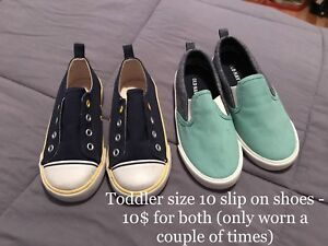 Toddler Size 10 Slip-On Shoes