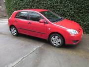 2006 Toyota Corolla ZZE122R 5Y Ascent Hatchback 5dr Manual 1.8L Collingwood Yarra Area Preview