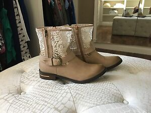 Never worn boots for sale