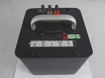 General Radio 1482-q 2h 0.1 Standard Inductor