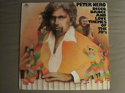 PETER NERO DISCO, DANCE AND LOVE THEMES OF THE 70'S LP '78 PROMO FUNK BREAKS - Disco Themes