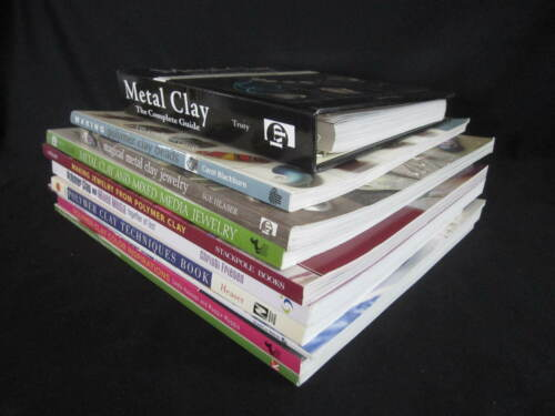 Metal Clay and Polymer Clay Craft Books Mostly Jewelry -You Pick- Read Listing