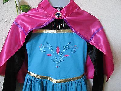 Frozen Coronation (Frozen Queen Elsa Coronation Gown Dress Costume with Cape Girls Size)