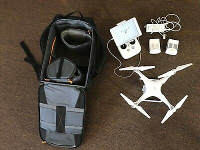 DJI Phantom 4 Drone plus backpack and iPad