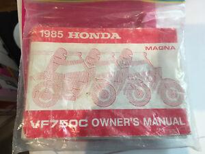 Honda vf750c magna guide original