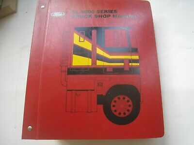 FORD CL 9000 SERIES TRUCK SHOP MANUAL VERY RARE