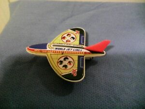tin toy airplane