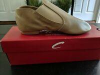 Capezio CG15 Stretch Jazz Ankle Boot Black Shoes Leather Child Size 11M 11