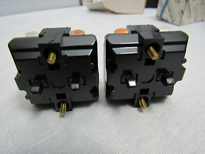 Honeywell Micro Switch Ptcb Contact Block Lot Of 2