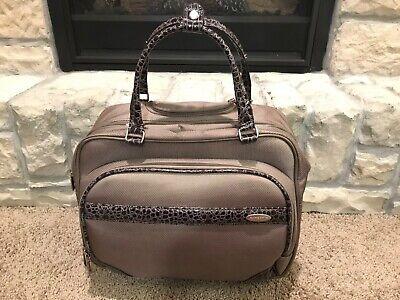 Samsonite Rolling Garment / laptop Bag perfect for work trips
