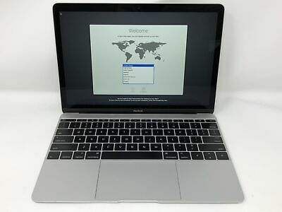 MacBook 12 Silver Early 2015 1.1 GHz Intel Core M 8GB 256GB Good Condition