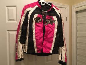 Ladies FXR racing motorcycle jacket snowmobile
