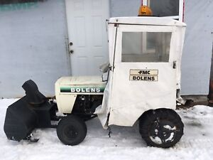 Hi,have Belen's tractor with blower asking $1,200 OBO