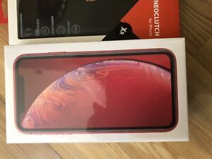 Brand New IPhone XR 64gb RED