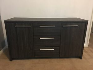 Buffet Table + 5 Drawers Tallboy Northbridge Perth City Area Preview