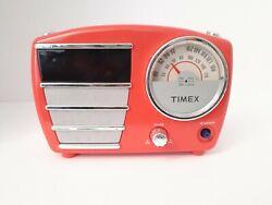 Timex Alarm Clock Vintage Retro Look Radio T247M
