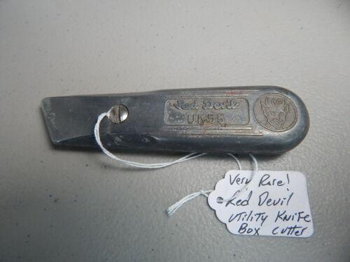 Vintage! Rare! Red Devil UK-55 Box Cutter Utility Knife