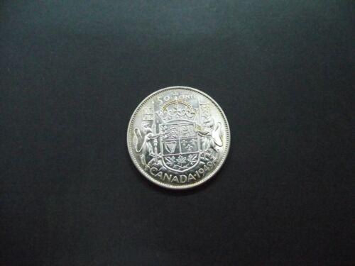 1949 * CANADA * GEORGE VI HALF DOLLAR * 50 CENTS * CIRCULATED *