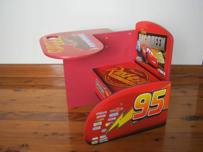 Sensational Disney Pixar Car Chair Desk With Storage Bin Desks Pdpeps Interior Chair Design Pdpepsorg