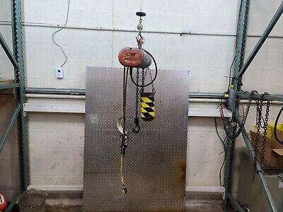 Cm Lodestar Chain Hoist 14 Ton 10 Ft Lift 6 Ft Pendant 16 Fpm 115v Model B