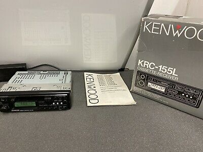 Kenwood 1990s Old Classic Vintage Retro Radio Cassette Player Model Krc-151L segunda mano  Embacar hacia Spain