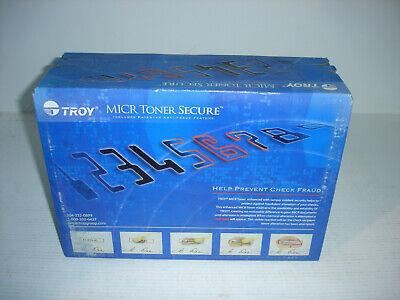 Troy Brand HP LaserJet P3005 MICR Toner Cartridge 02-81201-001 001 Troy Hp Laserjet