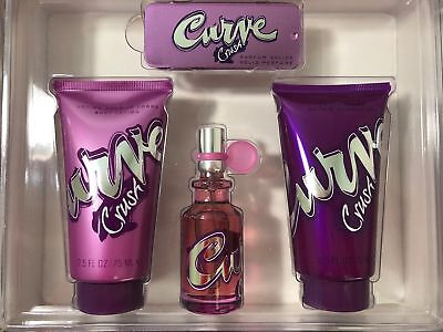 Curve Gel Body Lotion - Curve Crush Perfume Body Lotion and Shower Gel 4 Piece Set
