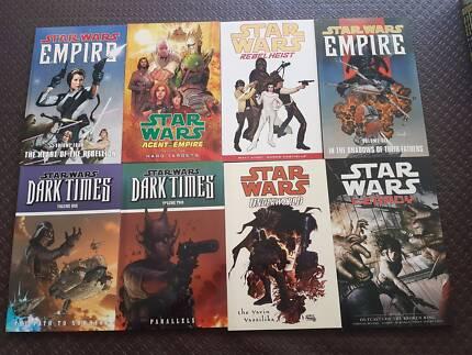 Brand New Dark Horse Star Wars Softcover Graphic Novels