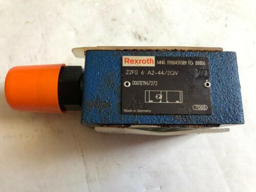 NEW REXROTH HYDRAULIC CHECK VALVE  Z2FS 6-A2-44/2QV R900439389 FD 88806,TL