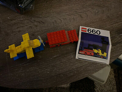 Lego 660 Car with Plane Transporter - Manual - From 1975