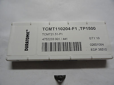 Seco Tcmt21.51-f1 Carbide Turning Inserts Edp 36510