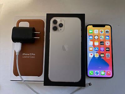 Apple iPhone 11 Pro - 64GB - Silver (Unlocked) A2160 (CDMA + GSM)