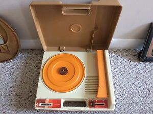 Fisher Price Real Record Player 1978