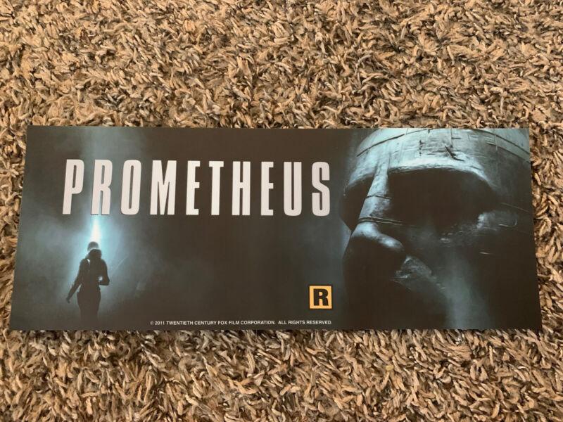 Prometheus Authentic Movie Mylar 2012