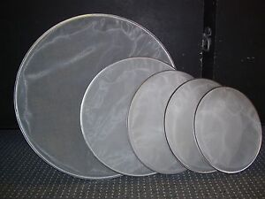 SET OF DUAL PLY MESH DRUM HEADS(12,13,14,16 and22inch) Kirwan Townsville Surrounds Preview