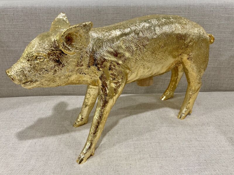 Harry Allen Areaware Reality Piggy Bank - Gold Chrome