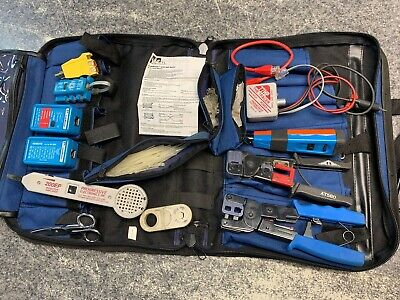 Ideal Electrical Electricians Tool Set Kit In Zip Bag At850 35-088 30-696 200ep