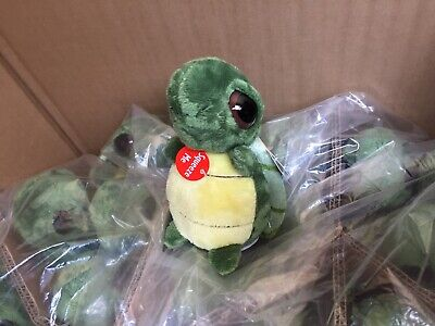 Aurora World Dreamy Eyes Turtle with Bubble Sound Plush item# 17110 lot of 12 Aurora Dreamy Eyes Plush