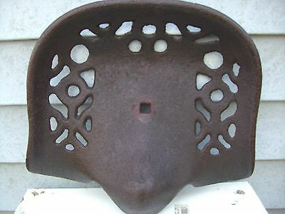 Vintage farm fresh Antique Cast Iron Tractor Seat
