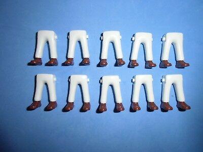 Playmobil Piernas, Soldados, Nordistas, Medieval, jambes Playmo